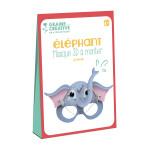 Masque 3D à monter Éléphant