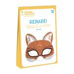 Masque 3D à monter Renard