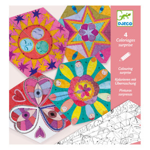 Coloriage surprise Mandala constellations