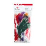 Plumes - Assortiment de couleurs - 45 pces
