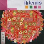 Papier origami rouge 15x15cm 10 feuilles