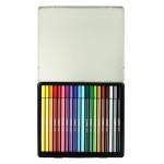 Feutres Stabilo Pen 68 - 20 couleurs assorties