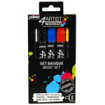 Feutre peinture 4Artist Marker 4 mm - Assortiment basique