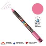 Marqueur PC-1MR calibrée extra-fine - Rose