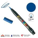 Marqueur  PCF-350 pointe pinceau - Bleu