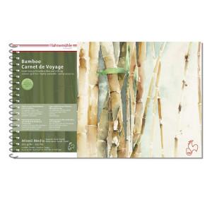 Carnet de voyage bamboo 15 x 25 cm 265 g/m²