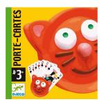Porte cartes tête de chat