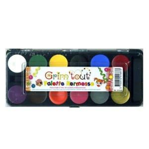 Maquillage pour enfant set Kermesse 12 couleurs