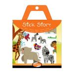 Stickers repositionnables Stick Story thème savane