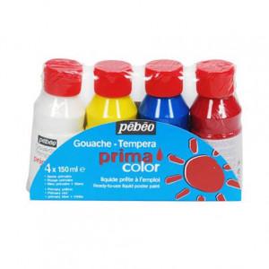 Assortiment PRIMACOLOR 4 x 150 ml couleur assortie