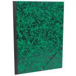 Carton à dessin Annonay vert à élastiques 37x52cm