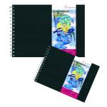 Carnet Layout couverture rigide - 80 g/m² - 75 feuilles - 14,8 x 21 cm (A5)