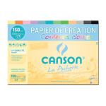 Papier Création couleurs claires Pochette 12 F. A4 150 g/m²