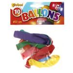 SACH 10 BALLONS ASSORT