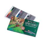 Boîte pastels à l'huile 36 couleurs assorties Expressionist