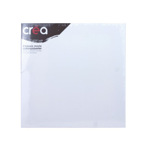 Châssis carré Mixte polyester + coton - 20 x 20 cm