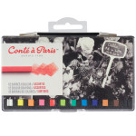CAP CARRE COULEUR SET 12 ASSORT.
