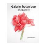 Livre Galerie botanique à l'aquarelle