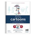 Carnet de dessin avec instructions pour les Cartoons