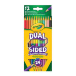 Crayon de couleur Double 12 pcs