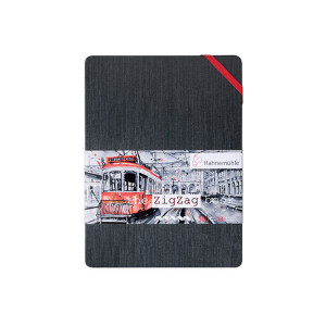 Carnet Zig Zag 300 g/m² 18 pages - 14,8 x 10,5 cm (A6)