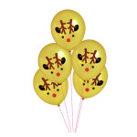 Ballon en latex Renne 5 pcs