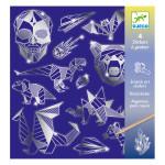 Carte à gratter stickers Iron