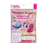 Kit plastique dingue marque-page animaux licorne