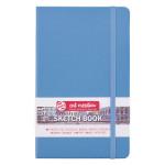 Carnet de croquis Bleu ciel 140 g/m² 80 feuilles - 12 x 12 cm