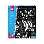 Kit Créatif Scratch Art Phosphorescent
