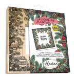 Tampon Doodler Stamp cadre Noël boules