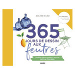 Livre 365 jours de dessin aux feutres