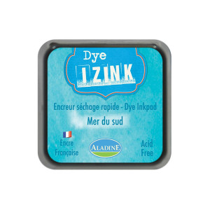Encreur Izink Dye séchage rapide - Mer du sud